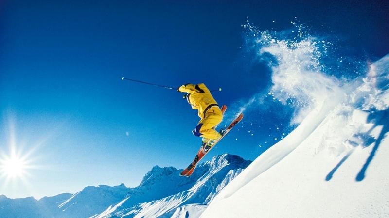 saut skieur