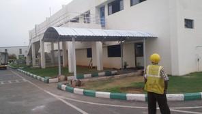 Walkway Shelter at TKM
