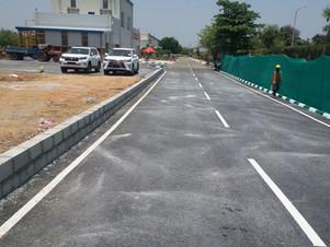 Emission Yard Road Works