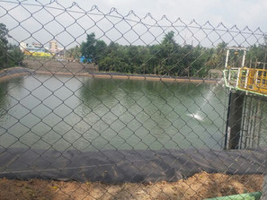 Pond Modification & Spillway Works at Toyota Kirloskar Auto Parts (TKAP)