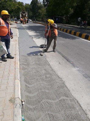 Concrete Road Works
