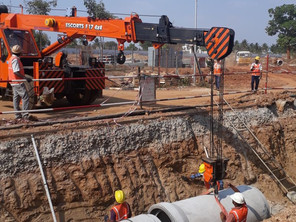 Phase II Road & Miscellaneous Works at BOSCH