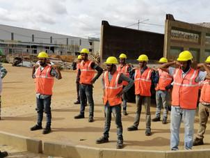 Compound Wall Construction at BOSCH Devarachikkinhalli