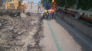 Civil Dismantling, Road Rectification & Widening Works at Toyota Kirloskar Motors (TKM)