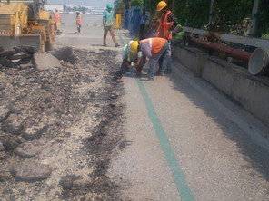 Civil Dismantling, Road Rectification & Widening Works at Toyota Kirloskar Motors (TKM)