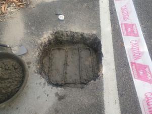 Pothole Creation for Test Track