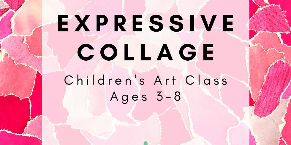 Children's Art: Expressive Collage