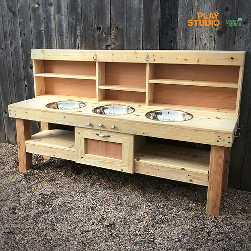 Custom Mud Kitchen