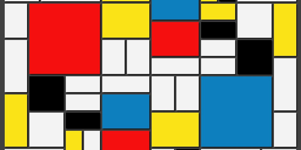 Children's Art: Black Lines and Primary Colors