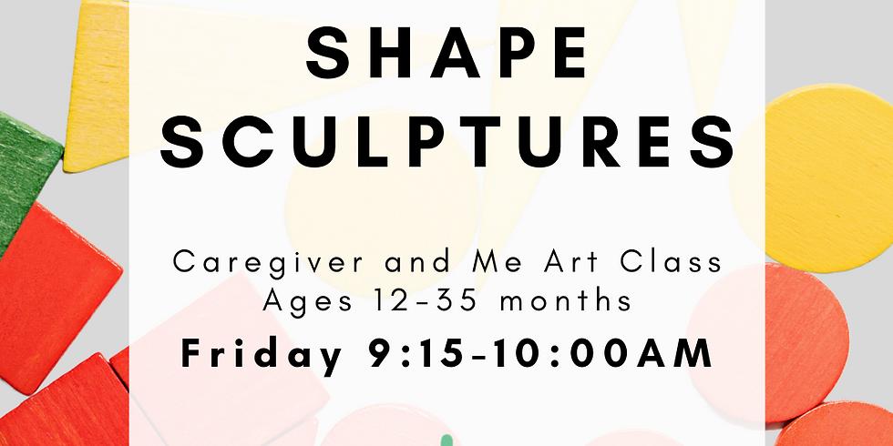 Caregiver and Me Art - Shape Sculptures