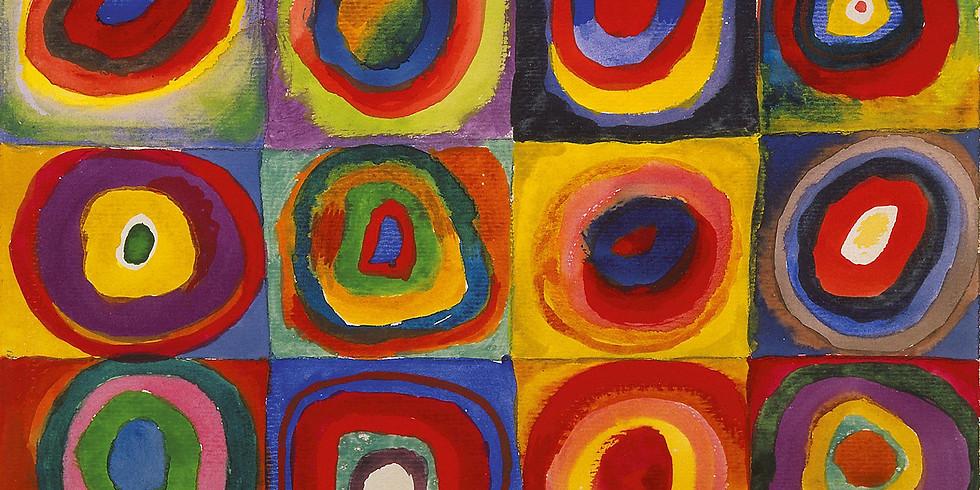Preschool Art Class - Kandinsky Circles