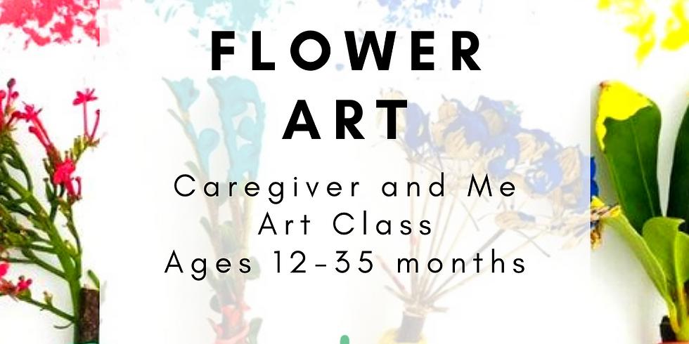 Caregiver and Me Art - Flower Art