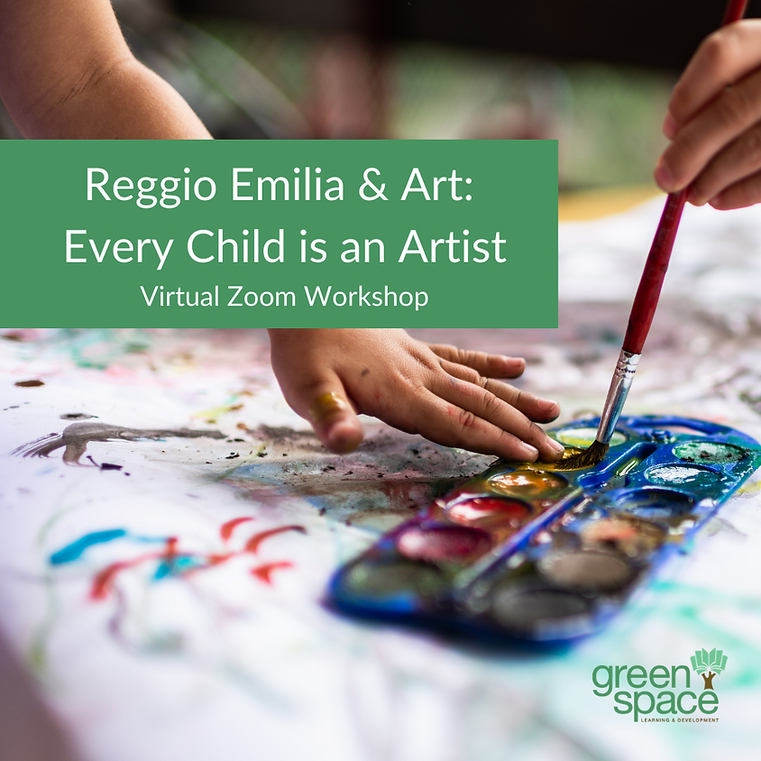 Reggio and Art: Every Child is an Artist (1.5 Hours)