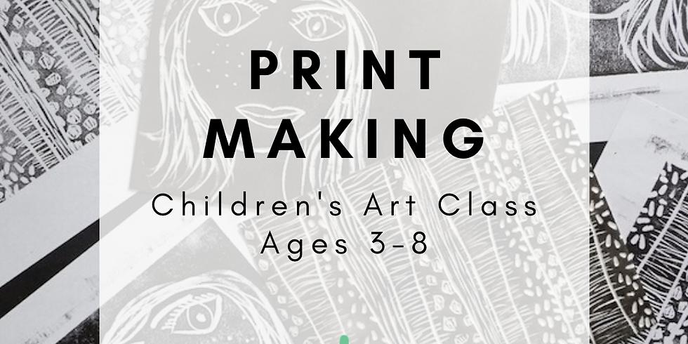 Children's Art: Printmaking