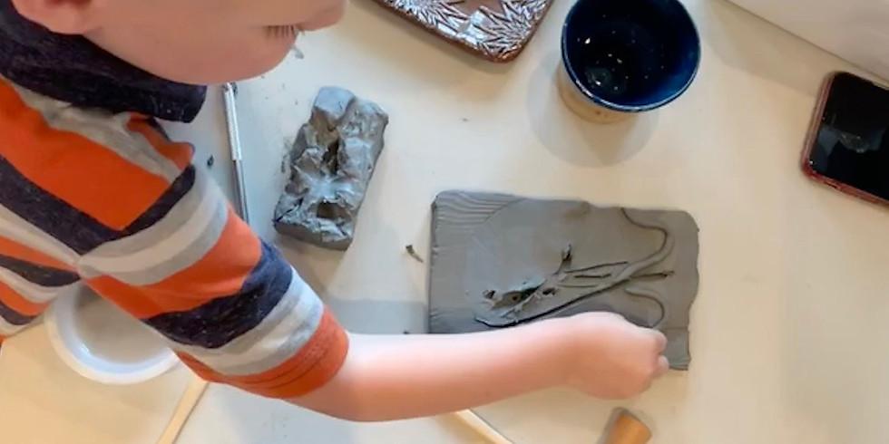 Toddler Art Class - Clay