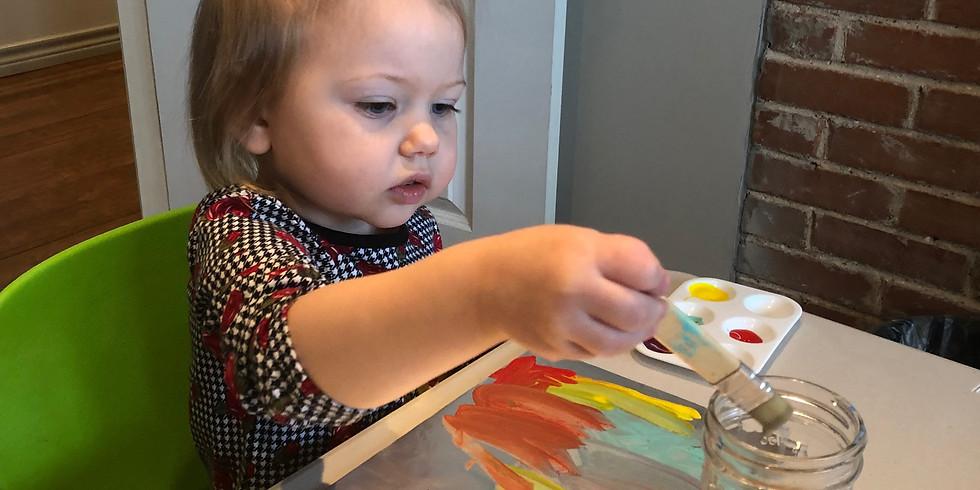 Toddler Art: Canvas Art