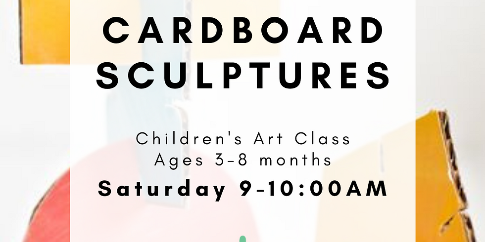 Children's Art - Cardboard Sculptures