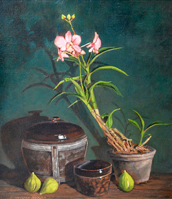 Rice Pot and Figs