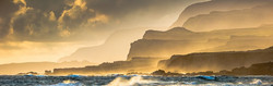 Cliffs at Sunrise from Ka'ehu Point