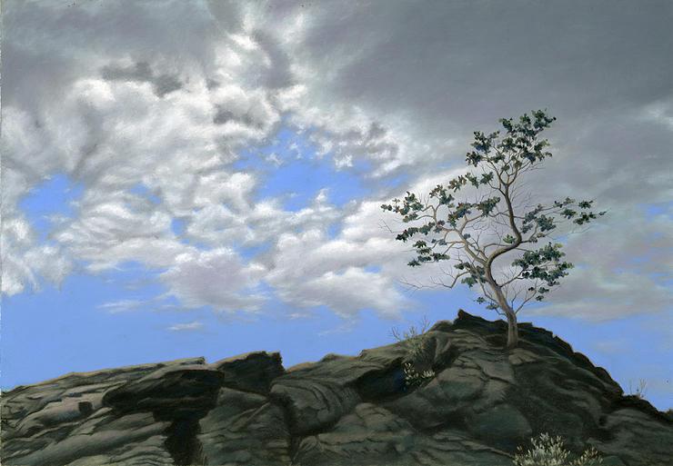 Skies Over Hilina Pali, Big Island