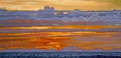 Sunset at Laniakea
