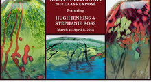 2018 GLASS EXPOSÉ WITH ARTISTS HUGH JENKINS AND STEPHANIE ROSS