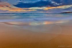 Rainbow in the Sand at Kawa'aloa Bay