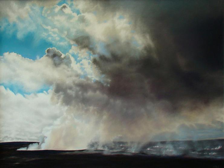 Kilauea Caldera Halemaumau