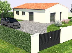 Maison traditionnelle 68,04m2 - Modèle Tilleul