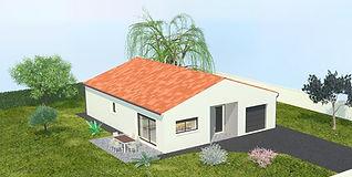 Maison traditionnellle 93,11m2 - Azalea