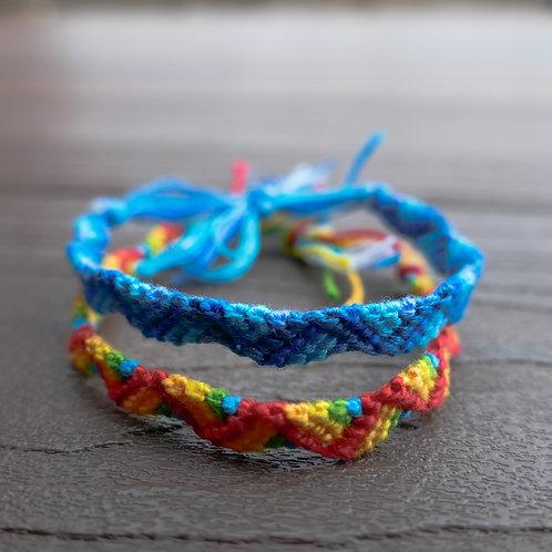 Friendship Bracelet - The Zigzag