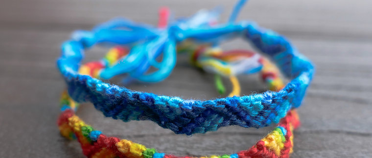 Friendship Bracelet - The Zigzag
