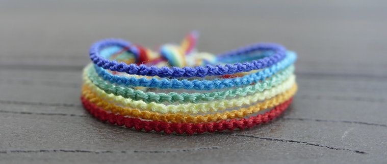 Friendship Bracelet -The Rainbow