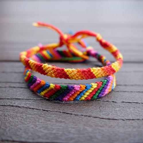 Friendship Bracelet - The Striped