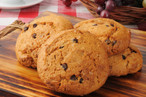 Gourmet chocolate chip cookies with pump