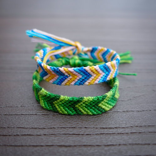 Friendship Bracelet - The Chevron
