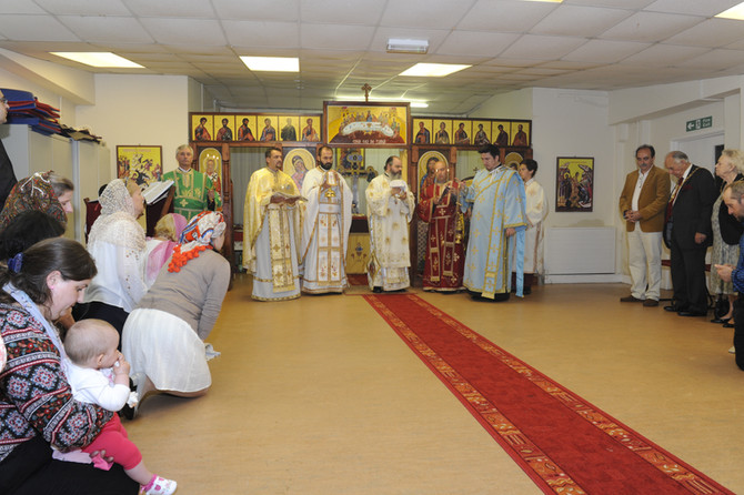 Hramul Parohiei 'Sfanta Veronica' din Coventry, 2015 - multumiri