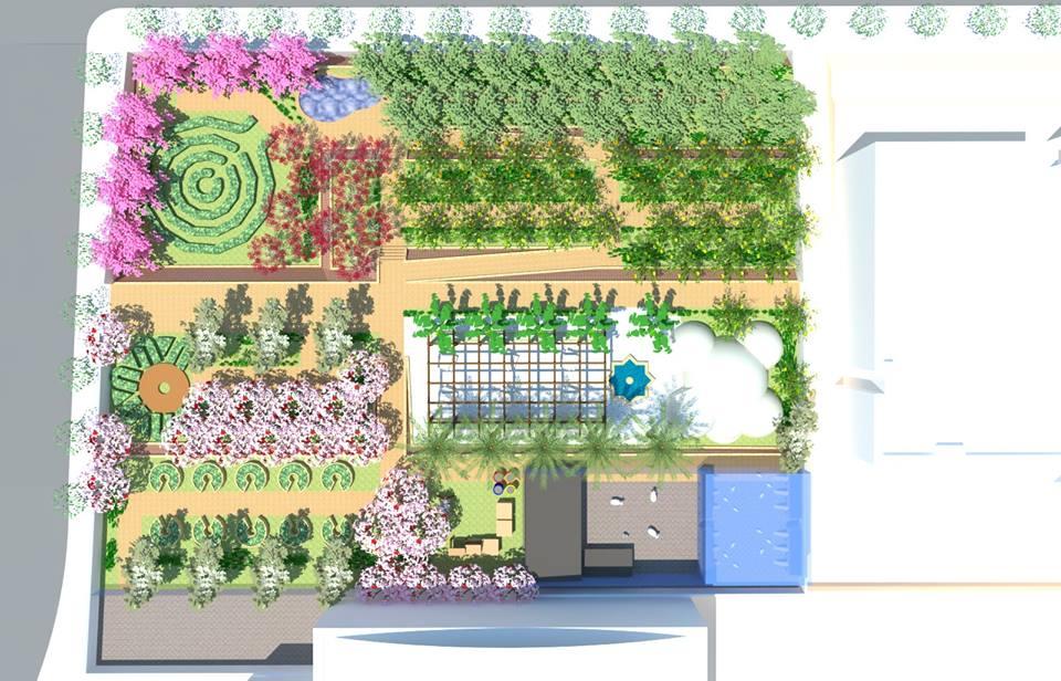 4 - Plan du jardin