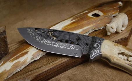 Заточка охотничьих и туристических ножей