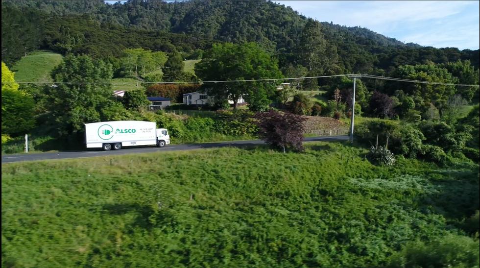 Through the green - Alsco Heavy EV