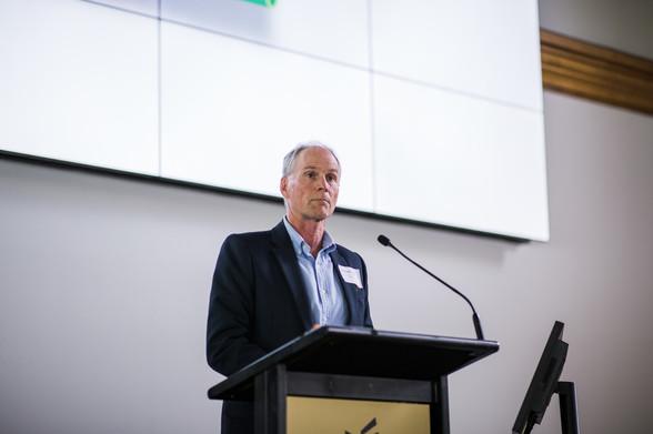 EECA Chief Executive, Andrew Caseley spe