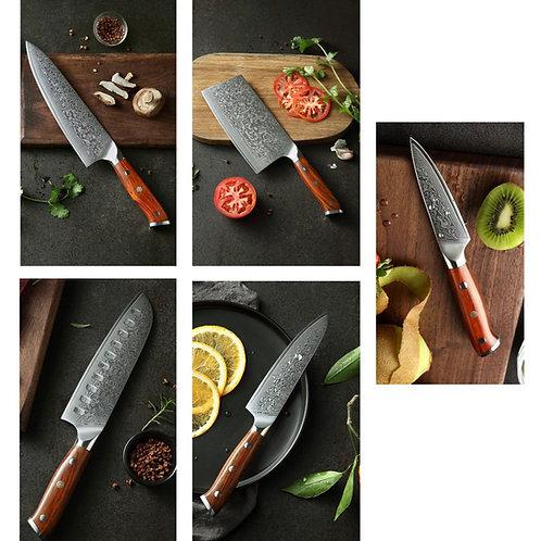 Knife Set 5pcs - Artisan Collection