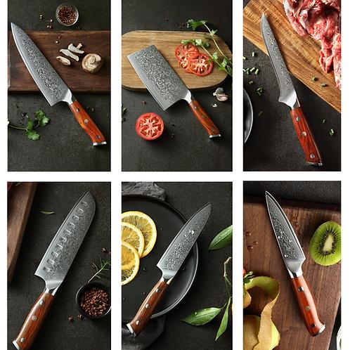 Knife Set 6pcs - Artisan Collection