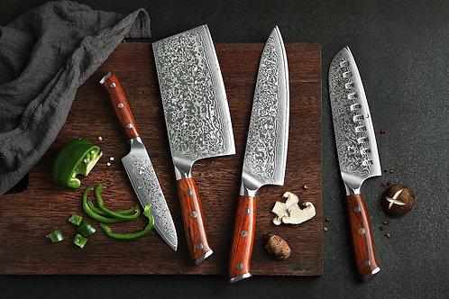Knife Set 4pcs - Artisan Collection