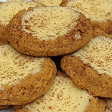 Sugar-Free Keto Gluten-Free Pumpkin Cheesecake Cookie