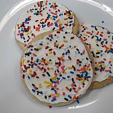 Gluten-Free Vegan Iced Sugar Cookie