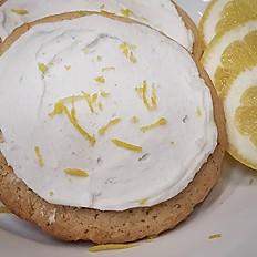 Gluten-Free Vegan Lemon Zest Cookie