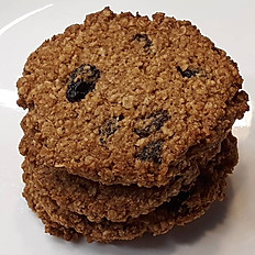 Sugar-Free Gluten-Free Vegan Oatmeal Raisin