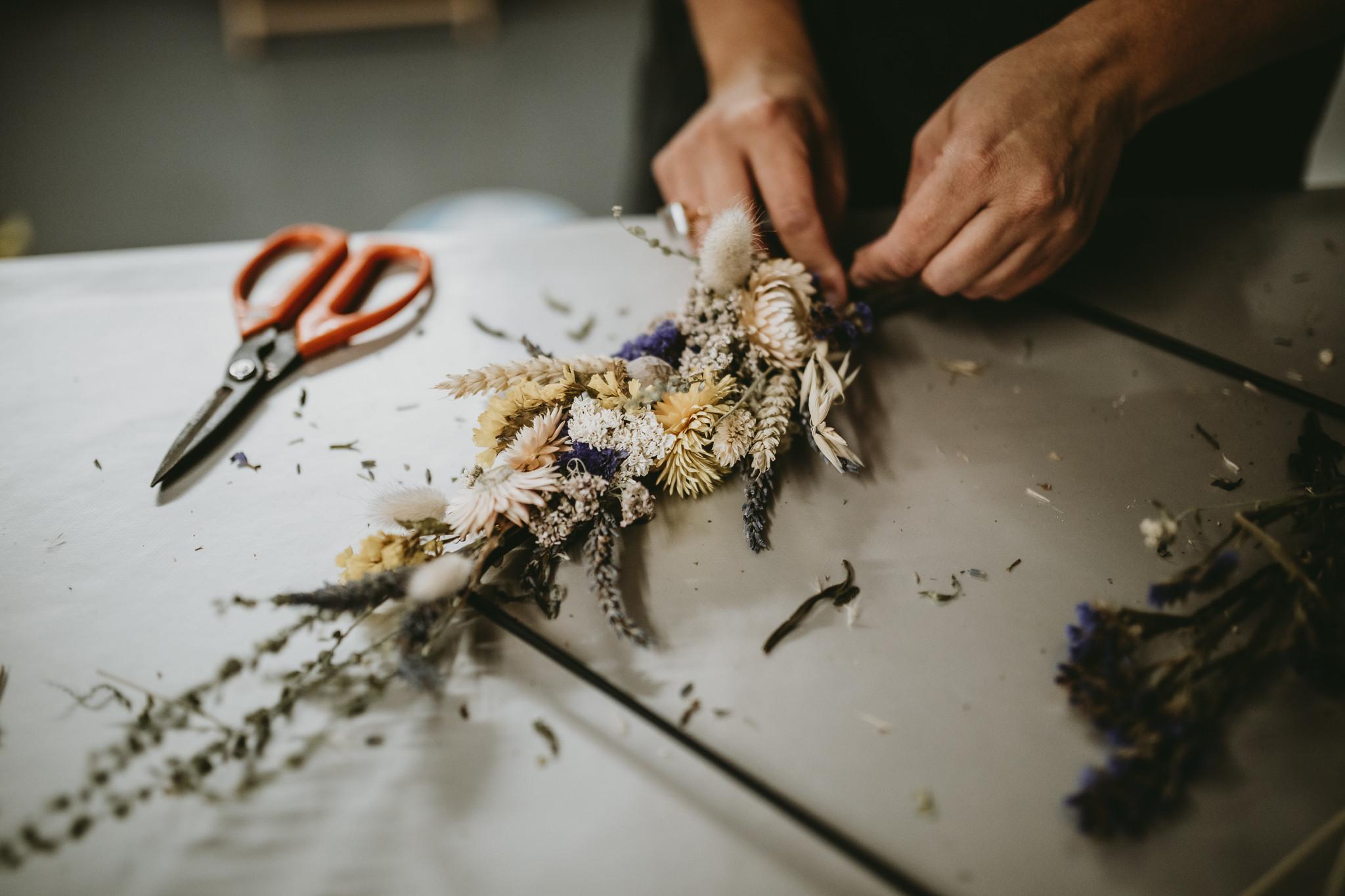Dried Wreaths Workshop