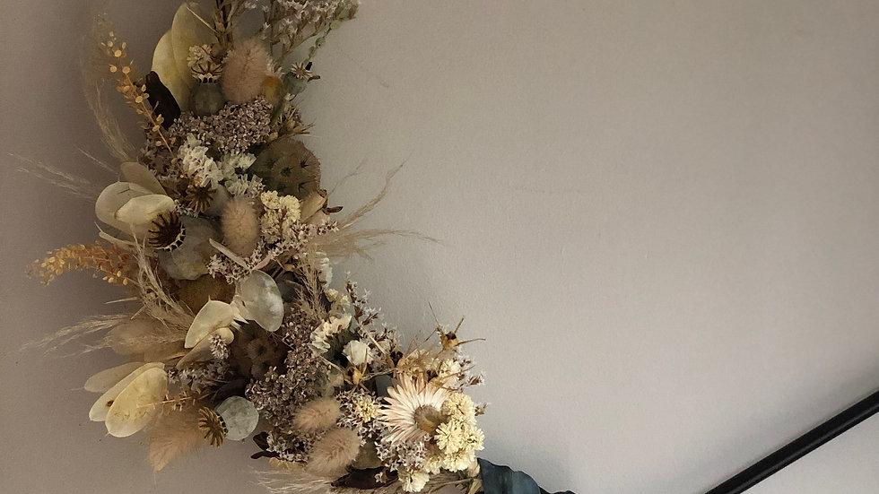 GEO I Dried Wreath